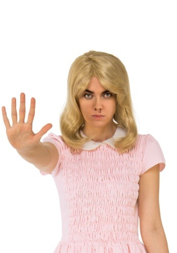 Adult Women's Stranger Things Eleven Blonde Wig
