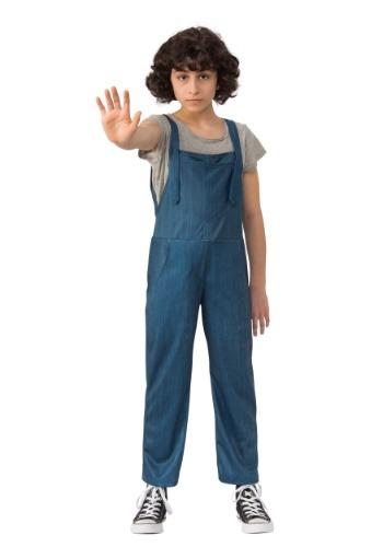 Child Stranger Things Eleven Overalls Costume