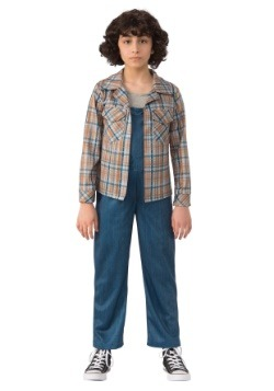 Eleven Child Stranger Things Plaid Shirt