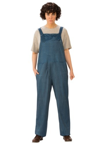 Eleven Adult Stranger Things Overalls Costume