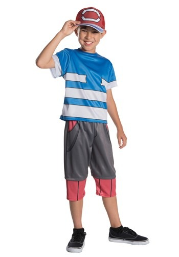 Kid's Pokemon Ash Costume