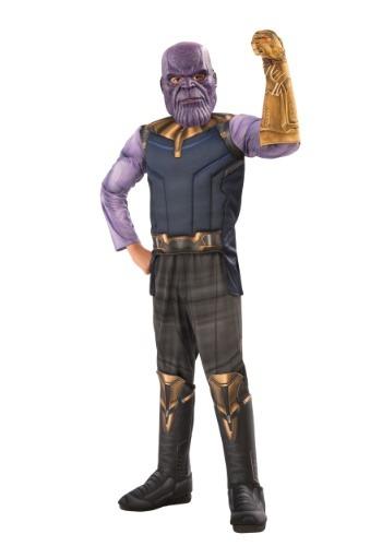 Marvel Infinity War Child Deluxe Thanos Costume