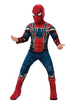 Marvel Infinity War Child Deluxe Iron Spider Costume