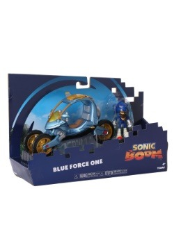Sonic Blue Force One Action Figure & Vehicle