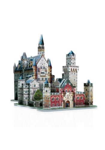 Neuschwanstein Castle Wrebbit 3D Jigsaw Puzzle