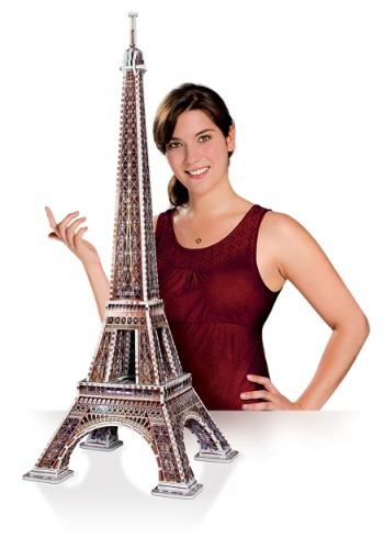 Eiffel Tower Wrebbit 3D Jigsaw Puzzle