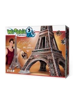 Eiffel Tower Wrebbit 3D Jigsaw Puzzle 3