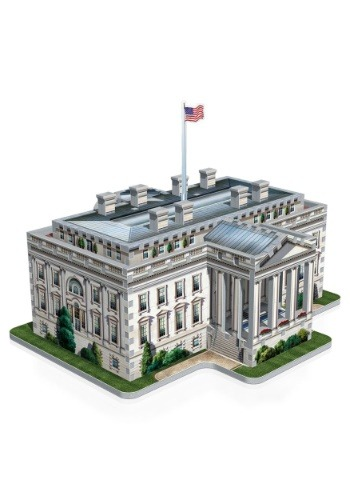 The White House Wrebbit 3D Jigsaw Puzzle