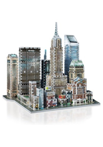 New York Collection - Midtown East Wrebbit 3D Jigsaw Puzzle