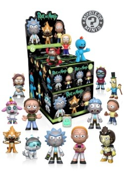 Mystery Minis Blind Box: Rick & Morty Wave 1