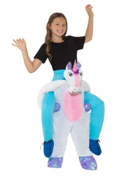 Child Piggyback Unicorn Costume