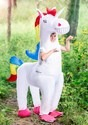 Child Giant Inflatable Unicorn Costume