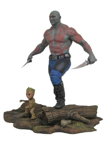 Marvel Gallery GOTG Drax & Baby Groot PVC Figure