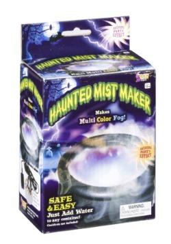 Haunted Mist Maker with Lights Halloween Decoration
