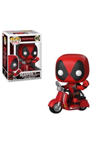 Pop! Ride Marvel: Deadpool- Deadpool & Scooter