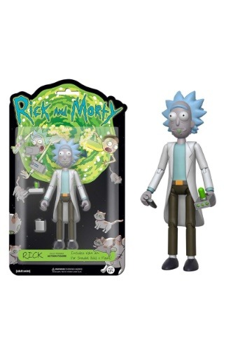 """FUNKO Rick & Morty - Rick 5"""" Articulated Action Figure"""