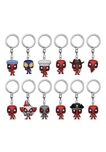 Pop! Keychain Blindbag: Deadpool