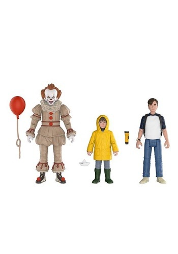 Funko IT Action Figures Pennywise, Georgie and Bill