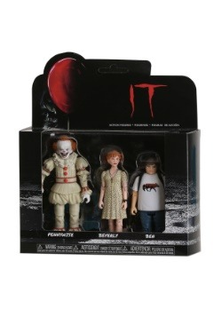 Funko IT Action Figures: Pennywise, Beverly, Ben