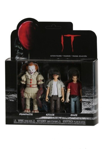 Funko IT Action Figures Pennywise, Richie, Eddie