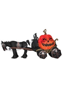 Decoration Inflatable Reaper & Carriage with Sound