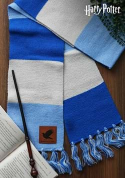 Ravenclaw Patch Striped Scarf