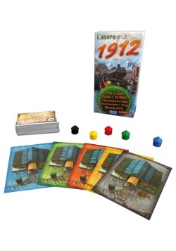 Europa 1912: Ticket to Ride Board Game Expansion 2