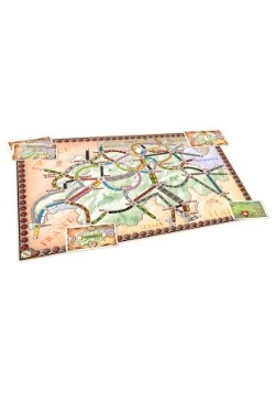 Ticket to Ride: India Board Game Expansion Board