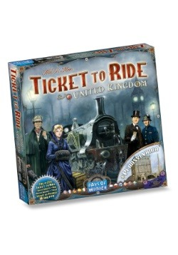 Ticket to Ride: United Kingdom Board Game Expansion