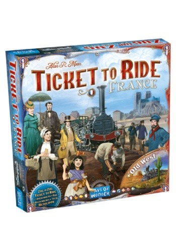 Ticket to Ride: France Board Game Expansion