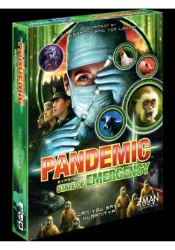 Pandemic: State of Emergency Board Game Expansion