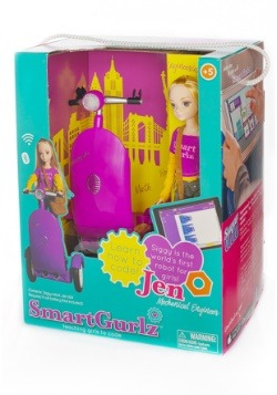 SmartGurlz Jen Doll with Purple Siggy