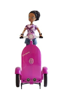 SmartGurlz Zara Doll with Purple Siggy