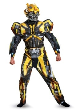 Transformers 5 Adult Deluxe Bumblebee Costume