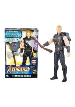 "Avengers: Infinity War Thor Titan Hero Power FX 12"" Figure"