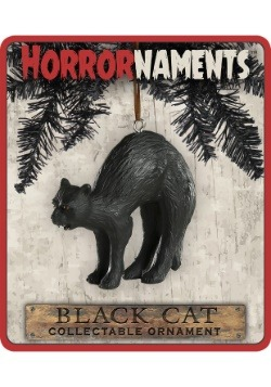 Horrornaments Black Cat Molded Ornament