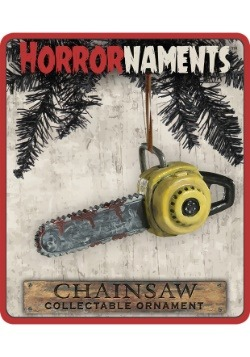 Horrornaments Chainsaw Molded Ornament