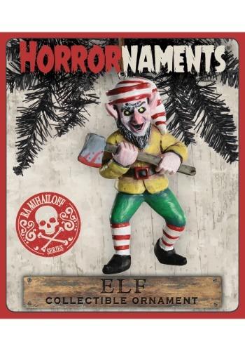 Horrornaments RA Mihailoff Series Molded Elf Ornament