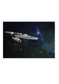 Star Trek Enterprise Glitter Fleece Blanket