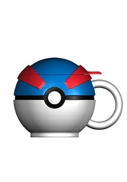 Pokemon Great Ball Molded Coffee Mug