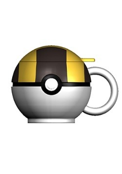 Pokemon Ultra Ball Molded Coffee Mug