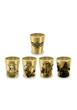 Zelda Shot Glass 4pk