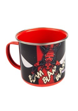 Deadpool Enamel Mug