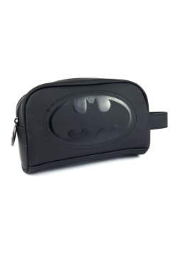 Batman Embossed Toiletry Bag