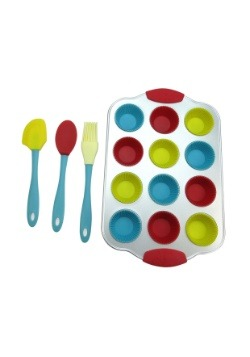 Handstand Kitchen 17 Piece Mini Cupcake Baking Set 2