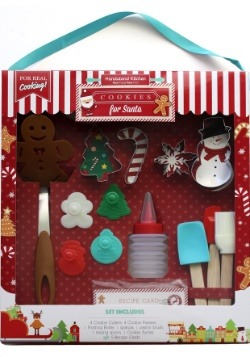 18 Piece Christmas Cookie Bakeware Set