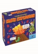 Magic School Bus- Math Explosion Board Game