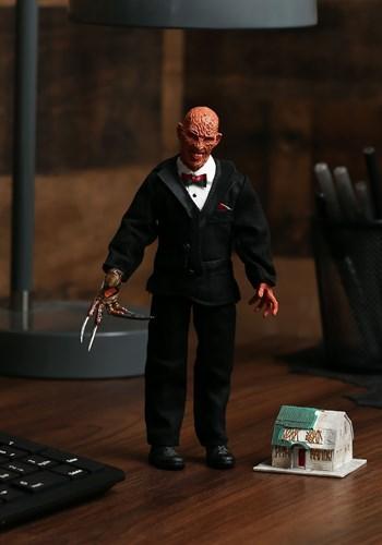 "Nightmare on Elm Street Tuxedo Freddy Krueger 8"" Figure"