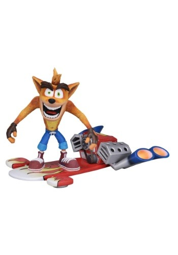 Crash Bandicoot 7 Inch Scale Action Figure
