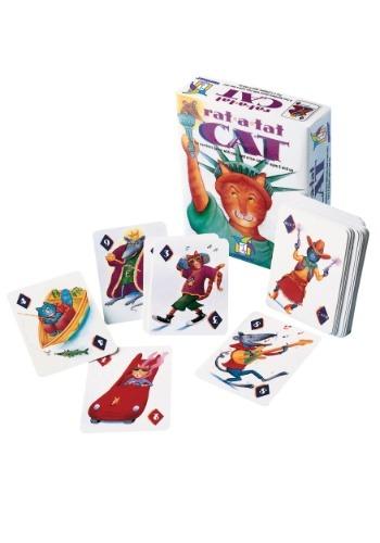 Gamewright Rat-a-Tat Cat: A Fun Numbers Card Game